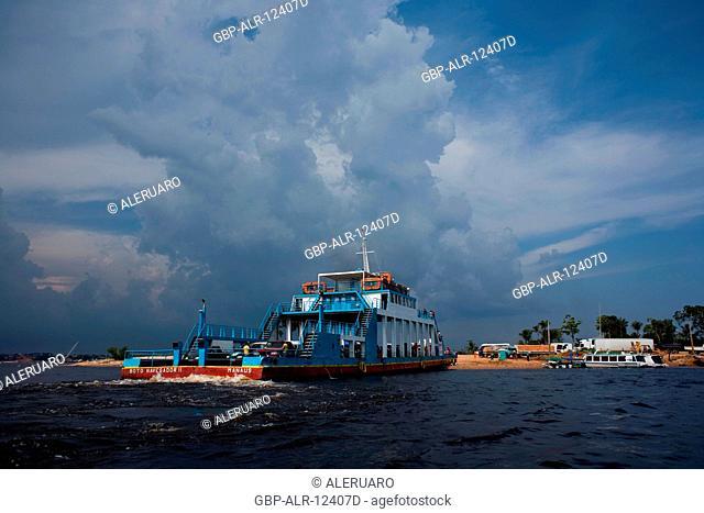 Raft, Ponta do Brito, Amazônia, Manaus, Amazonas, Brazil