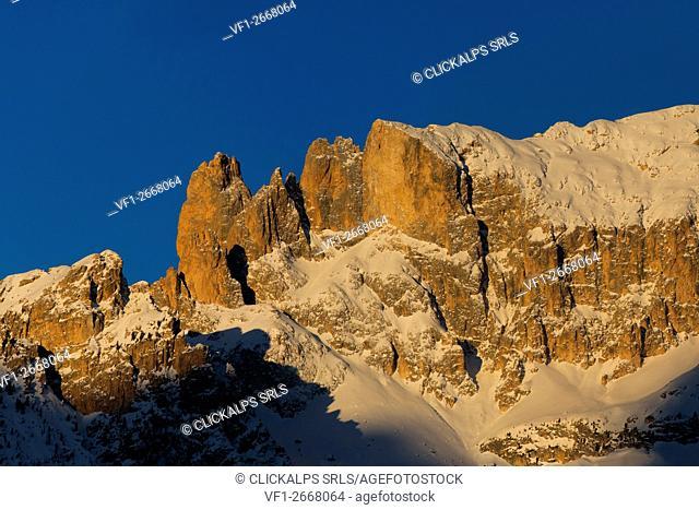 Europe,Italy,Trentino,Dolomites,Fassa valley