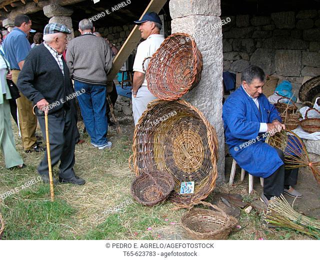 Livestock and Crafts Fair. O Páramo, Lugo, Spain