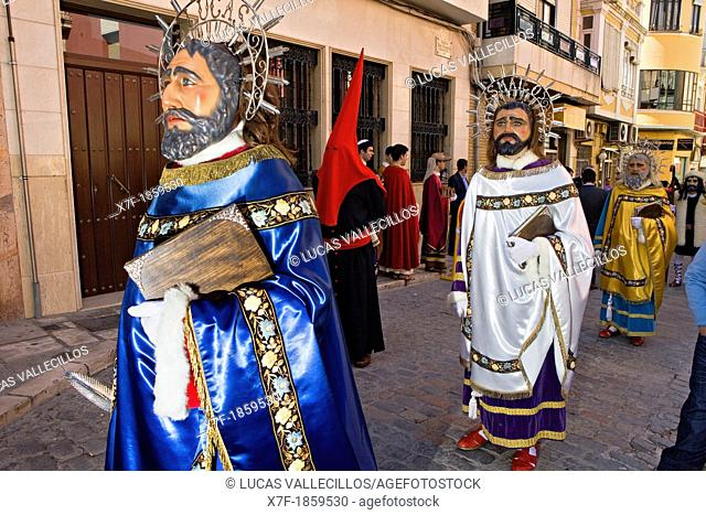 `Figuras' Holy Week  Easter Sunday Puente Genil  Córdoba province  Spain