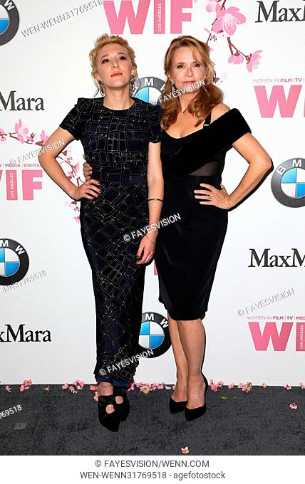 Women In Film 2017 Crystal + Lucy Awards® presented by Max Mara and BMW Featuring: Madelyn Deutch, Lea Thompson Where: Beverly Hills, California