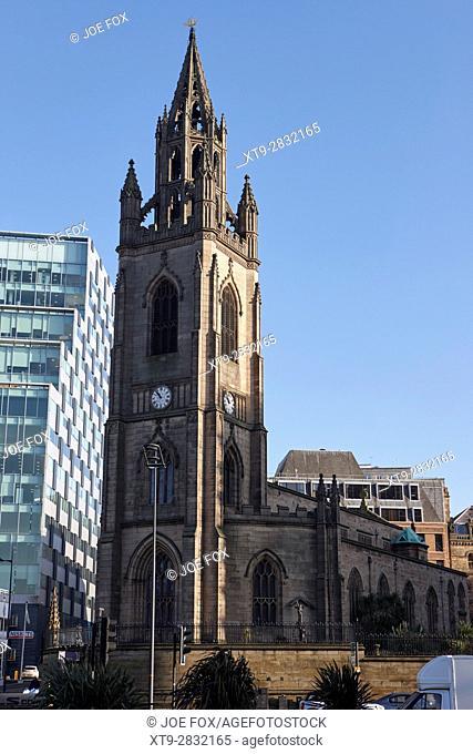 our lady and saint nicholas church liverpool city centre uk