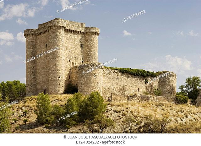 Puñoenrostro Castle, Seseña, Toledo Province, Castilla la Mancha, Spain
