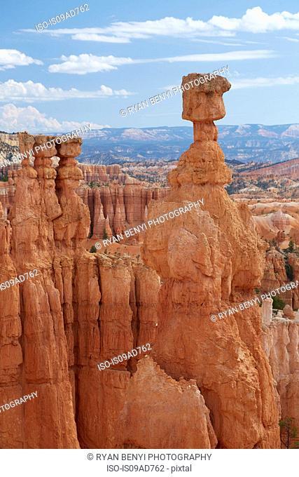 Hoodoo, Bryce Canyon, Zion National Park, Utah, USA