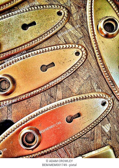 Close up of locks