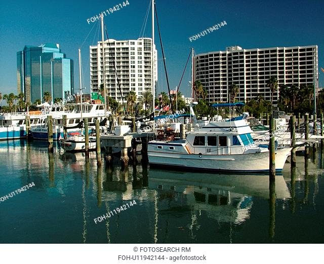 Sarasota, FL, Florida, Sarasota Bay, marina