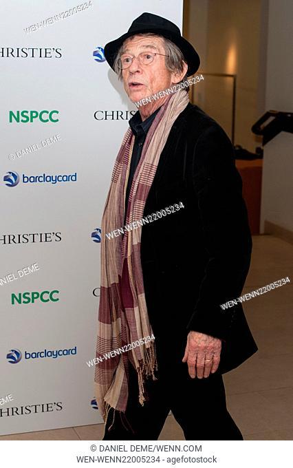 Paddington Bear auction held at Christie's in London - Arrivals Featuring: John Hurt Where: London, United Kingdom When: 10 Dec 2014 Credit: Daniel Deme/WENN