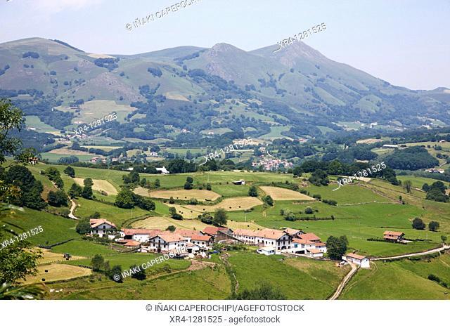 Gorostapolo quarter, Errazu Erratzu, Baztan Valley, Navarra Nafarroa, Spain España