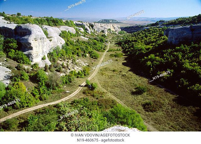 Crimea mountains near Bakhtchisarai, Crimea, Ukraine