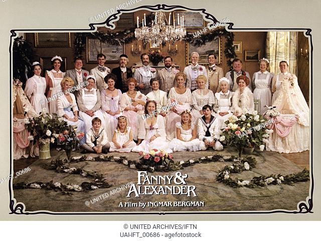 Fanny Och Alexander, Schjweden 1982, aka: Fanny und Alexander, Regie: Ingmar Bergman, Darsteller: Besetzung