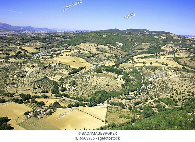 Landscape near Assisi, Umbria, Italy
