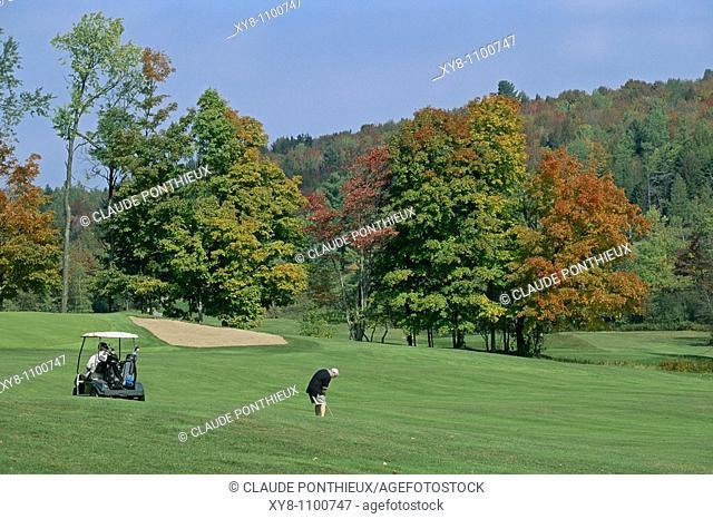 Golf-Course, Orford, Québec, Canada