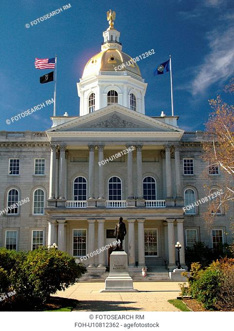 Concord, NH, New Hampshire, State House, State Capitol