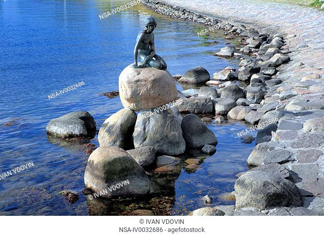 The Little Mermaid. Sculptor Edvard Eriksen. 1909-1913. Copenhagen, Denmark