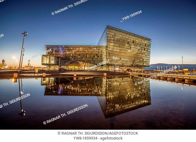 Harpa Concert Hall and Conference Center, Reykjavik, Iceland