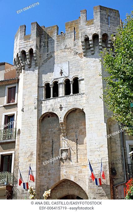 Old gate Manosque village in Alpes-de-Haute-Provence France