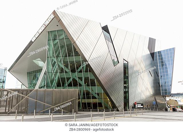 Bord Gáis Energy Theatre, Grand Canal Square, Grand Canal Dock, Dublin, Ireland, Europe