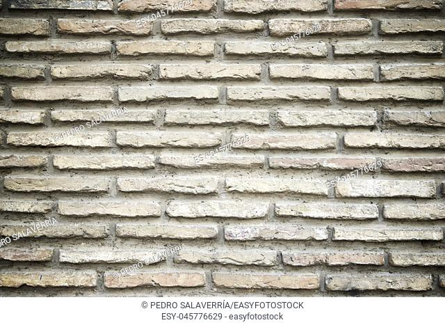 Brick wall background at high resolution