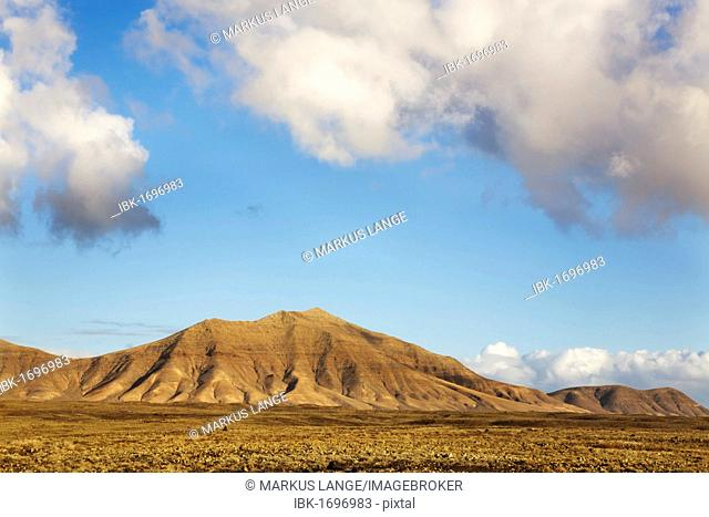 The Los Ajaches mountains near Playa Blanca, Lanzarote, Canary Islands, Spain, Europe