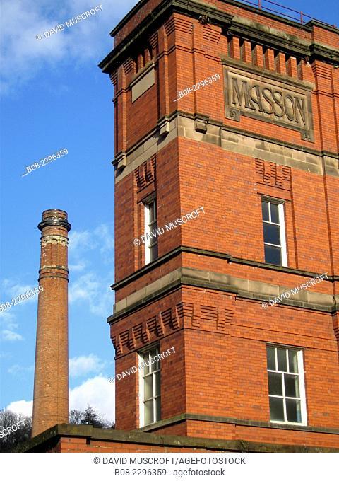 Masson Mill, Matlock, Derbyshie, Britain