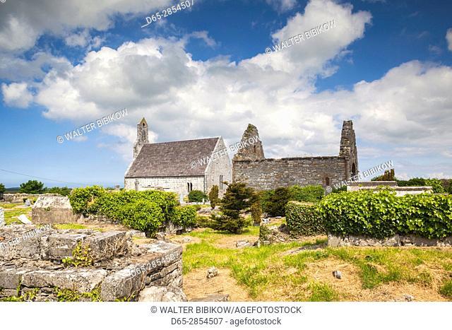 Ireland, County Kerry, Ardfert, Ardfert Cathedral, 13th century