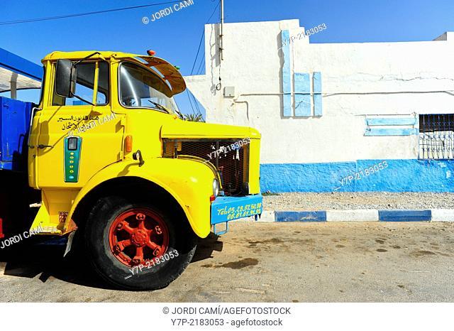 Truck. Sidi Ifni. Morocco .North Africa