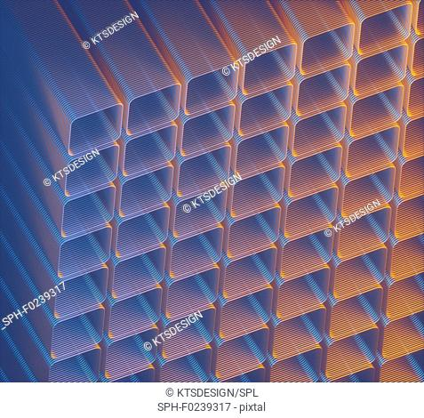 Geometric background, illustration
