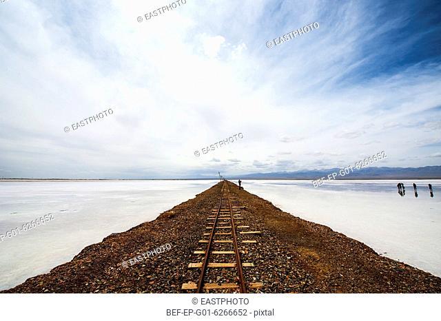 Caka Salt Lake scenery