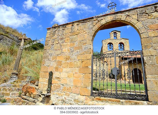 Chapel of the Virgin of Barruso, Magaña, Soria, Spain