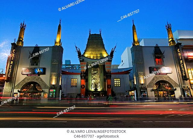 Grauman's Chinese Theatre, Hollywood, Los Angeles, California, USA