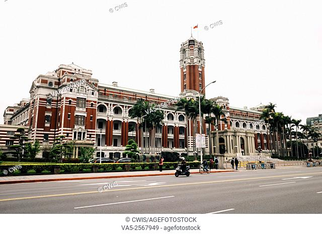 Taipei, Taiwan - The view of President's Palace in the daytime