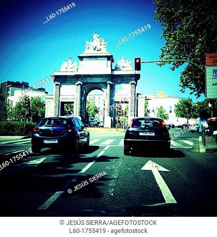 Puerta de Toledo, Madrid, Spain