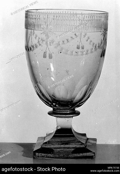 Goblet. Date: late 18th-early 19th century; Culture: Continental; Medium: Glass; Dimensions: H. 5 7/8 in. (14.9 cm); Classification: Glass; Credit Line: The...