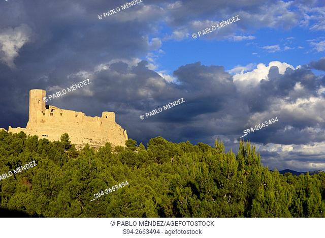 Castle of Ayab in Calatayud, Zaragoza, Spain