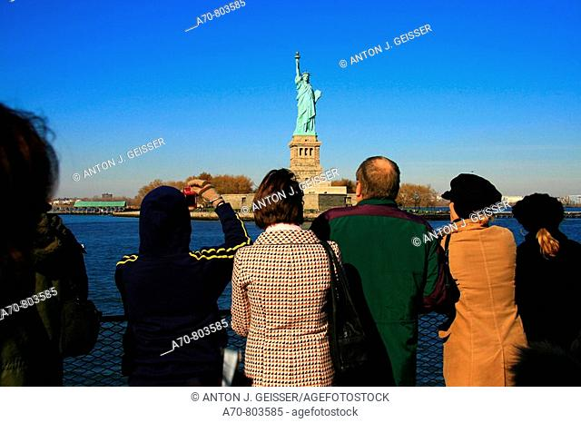USA, New York City, tourists