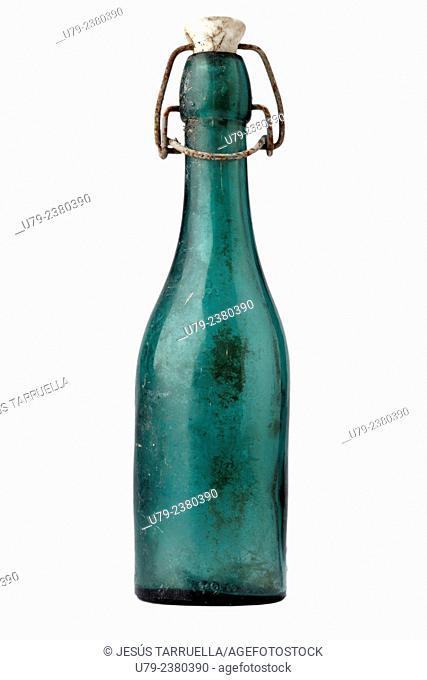 Old bottle of Soda, Spain, Europe