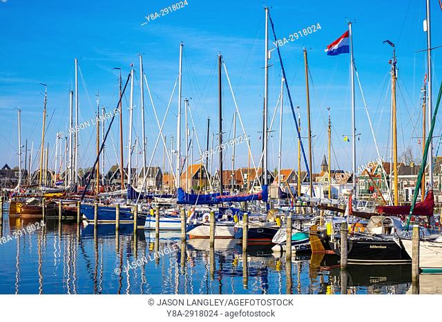 Netherlands, North Holland, Marken