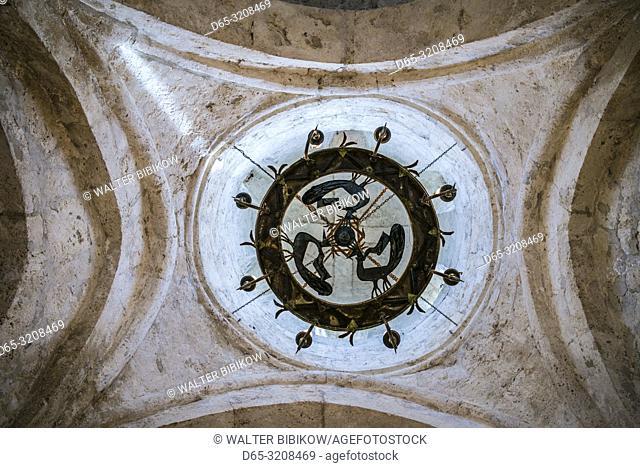 Azerbaijan, Kish, Caucasian Albanian Church, 12th century, interior