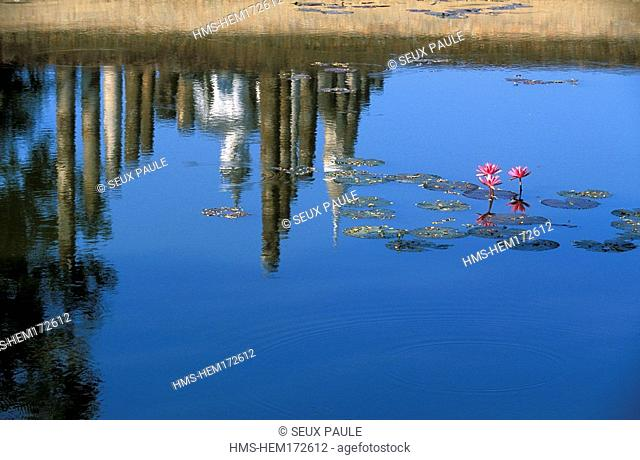Thailand, Sukhothai Province, Sukhothai Historical Park listed as World Heritage by UNESCO, Wat Mahathat Temple