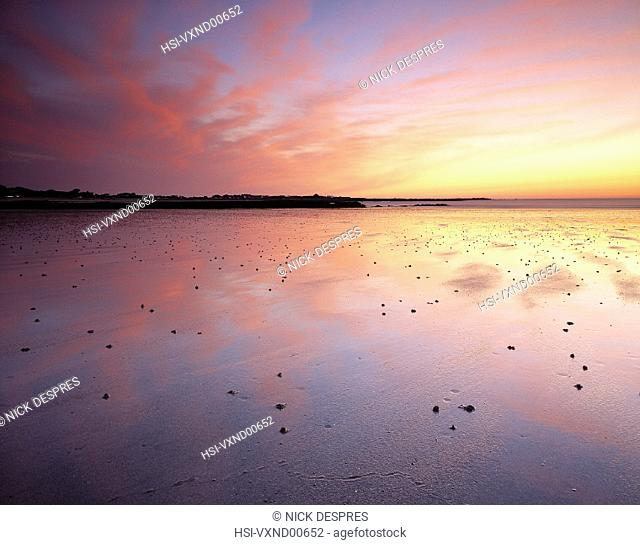 Environment & nature, Coast, Beach, Sunset