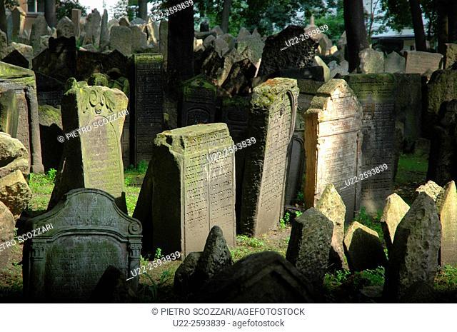 Czech Republic, Prague, Old Jewish Cemetery