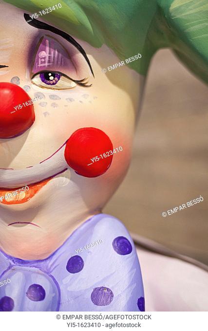 Ninot (satirical puppet), fallas festival. Valencia. Spain