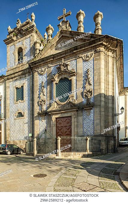 Church of Sao Pedro de Miragaia in Porto, Portugal
