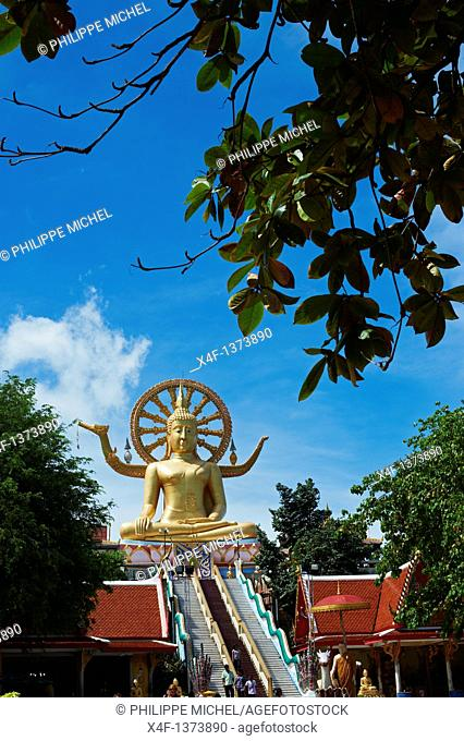 Thailand, Siam gulf, Ko Samui island, The Big Buddha statue