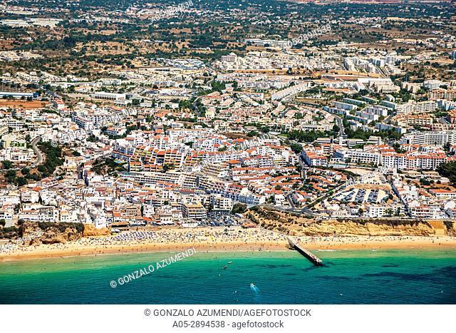 Praia de Albufeira. Albufeira. Faro district. Algarve. Portugal