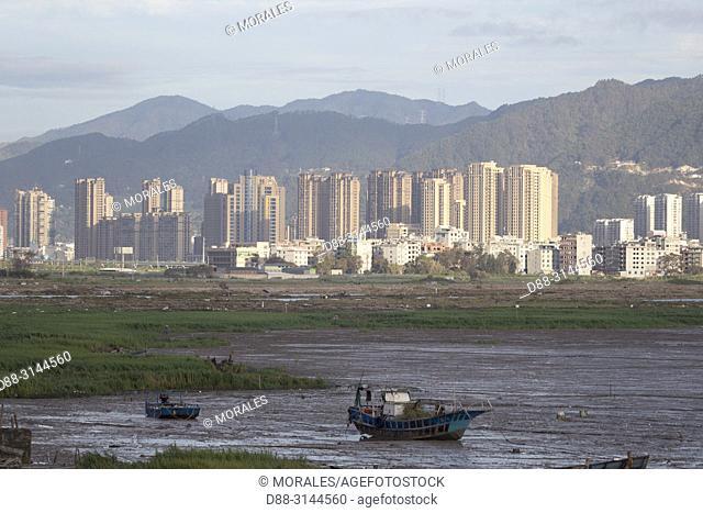Chine, Chine du Sud, Province de Fujiang, Région de Xiapu, Ville de Xiapu / China, Fujiang Province, Xiapu County, Xiapu town