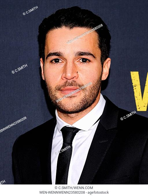 'Whiskey Tango Foxtrot' New York premiere at AMC Loews Lincoln Square Featuring: Christopher Abbott Where: New York, New York