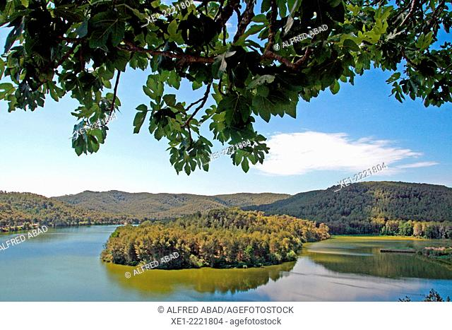 Foix Reservoir, Baix Penedes, Catalonia, Spain