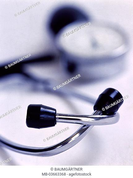 Stethoscope, sphygmomanometers