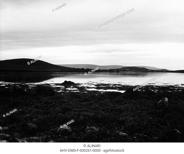View of Cloosh near Kinvara, shot 03/1989 by Orioli Maria